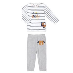 Pyjama bébé 2 pièces velours Oh My Dog