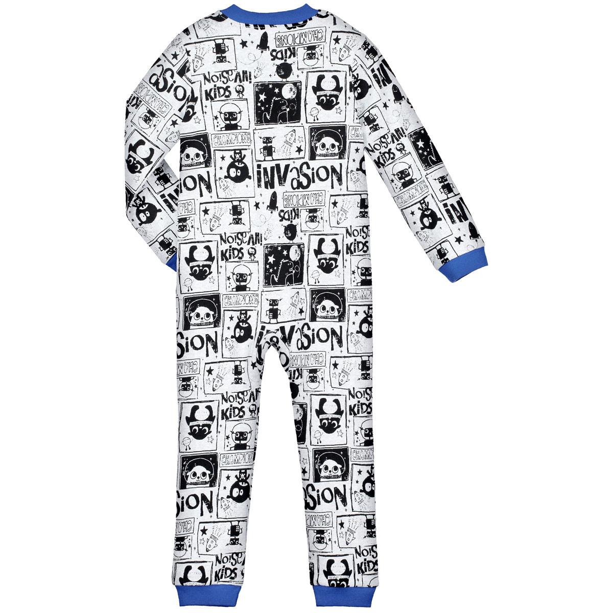 Pyjama garçon manches longues Invasion Kids dos