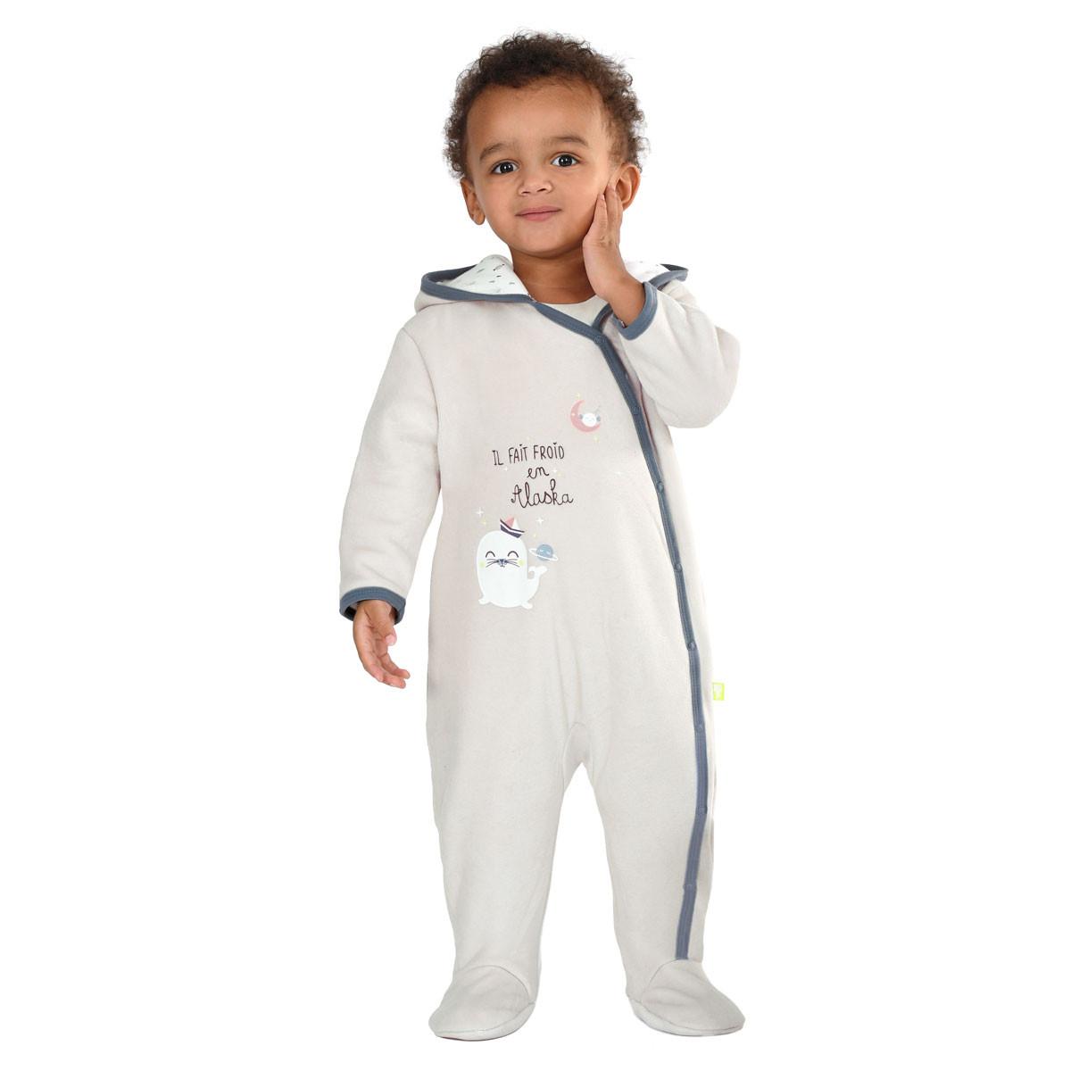 Combi pilote bébé garçon Mr Freeze