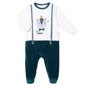 Pyjama bébé garçon velours Abracadabra Petit Béguin
