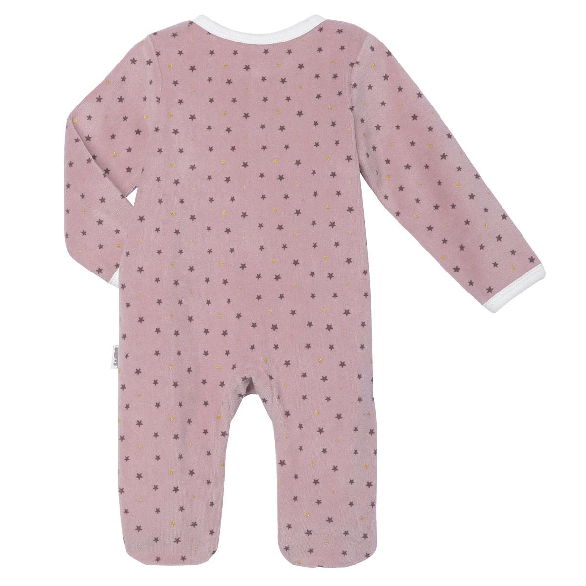Pyjama bébé velours Lapinou dos