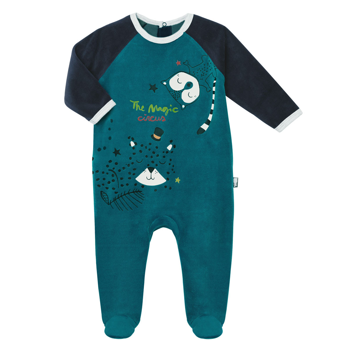 Pyjama bébé velours Jungle Jungle