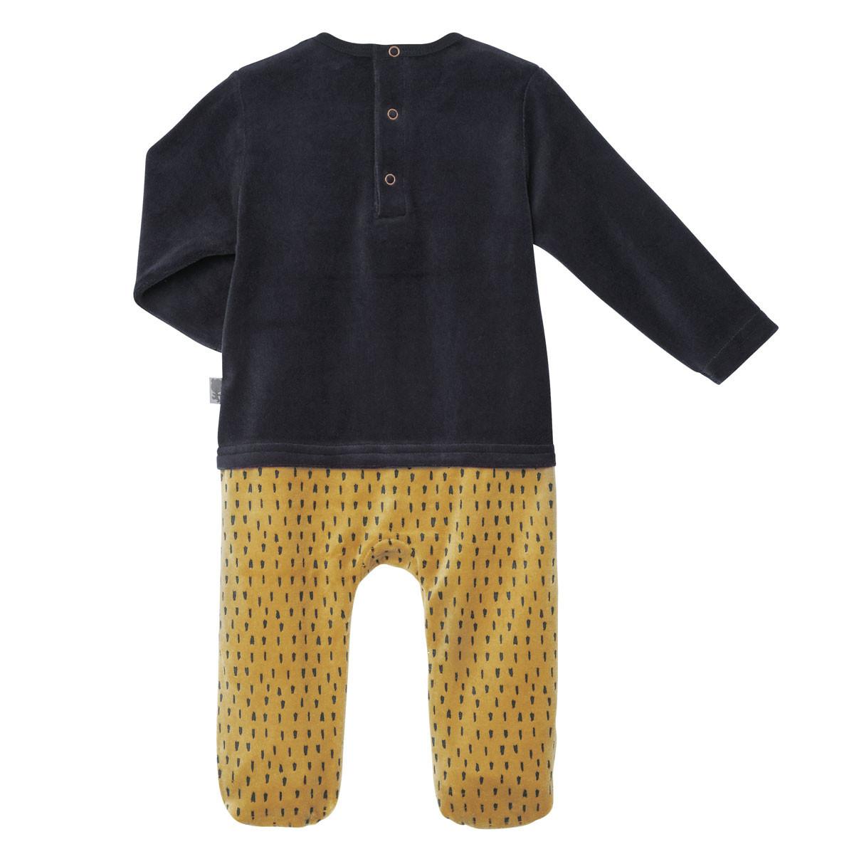 Pyjama bébé velours Foxy dos