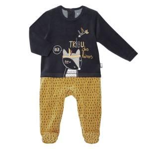 Pyjama bébé velours Foxy