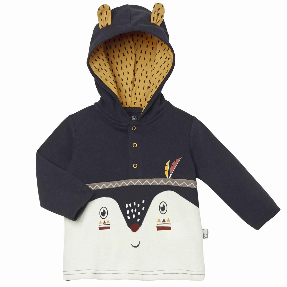 Ensemble bébé garçon en molleton Foxy sweatshirt