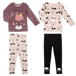 Lot de 2 pyjamas fille manches longues Circus Party