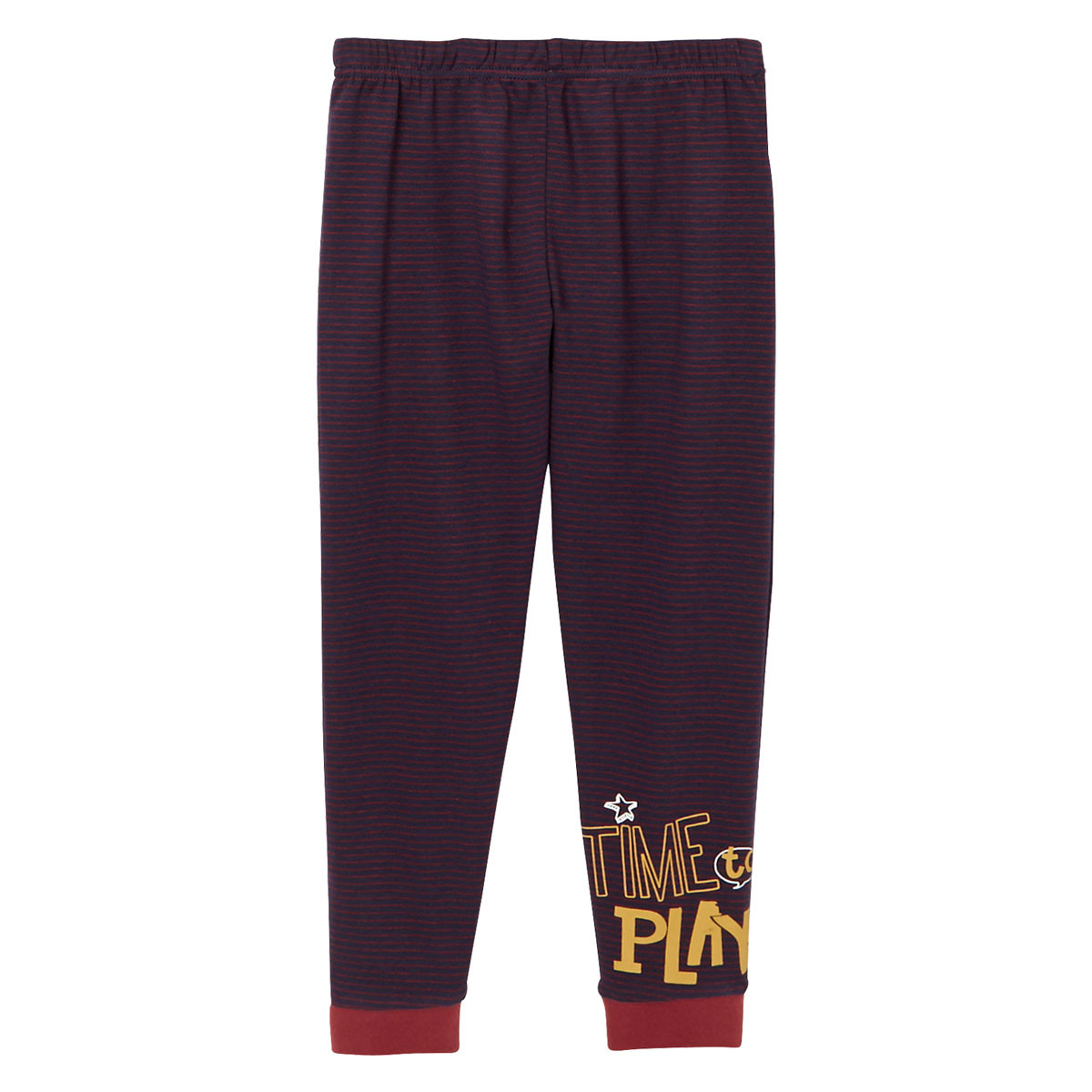 Pyjama garçon manches longues Bob bas