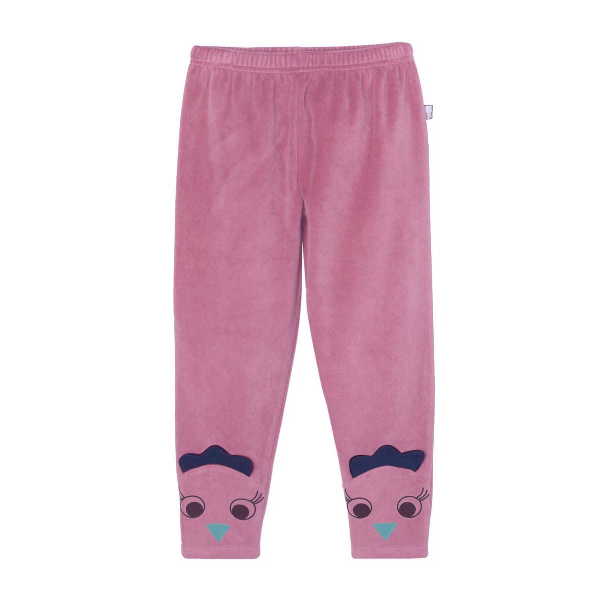 Pyjama fille manches longues Cool ma Poule pantalon