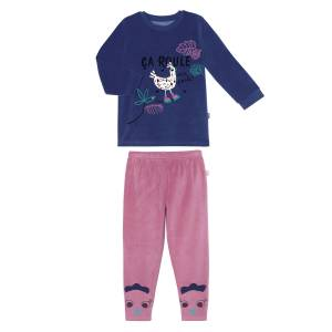 Pyjama fille manches longues Cool ma Poule