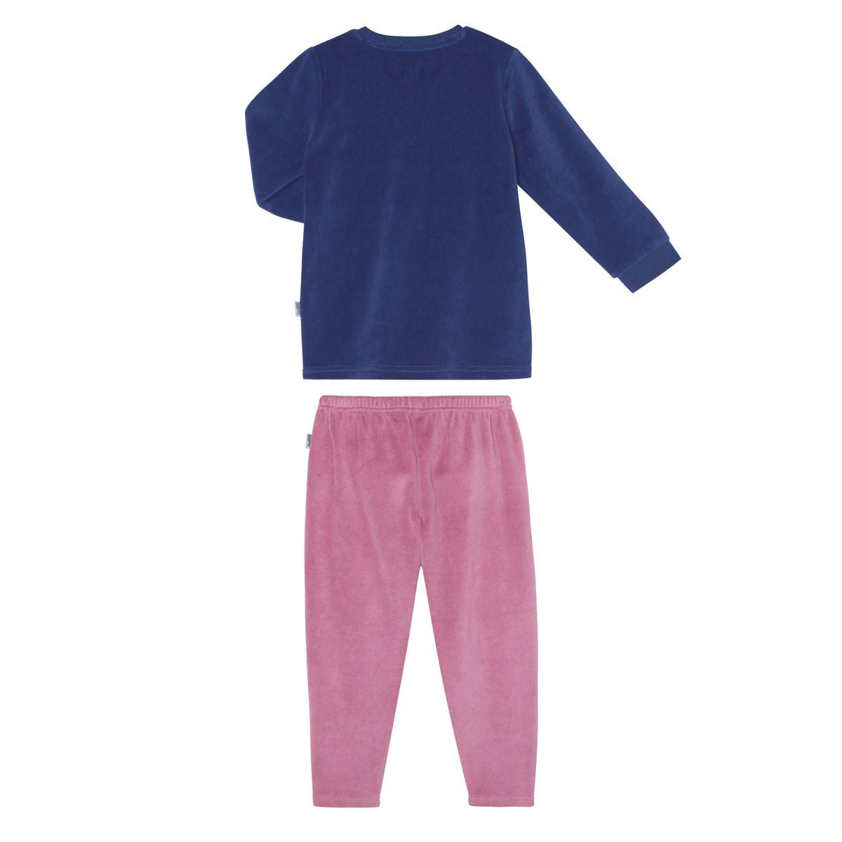Pyjama fille manches longues Cool ma Poule dos