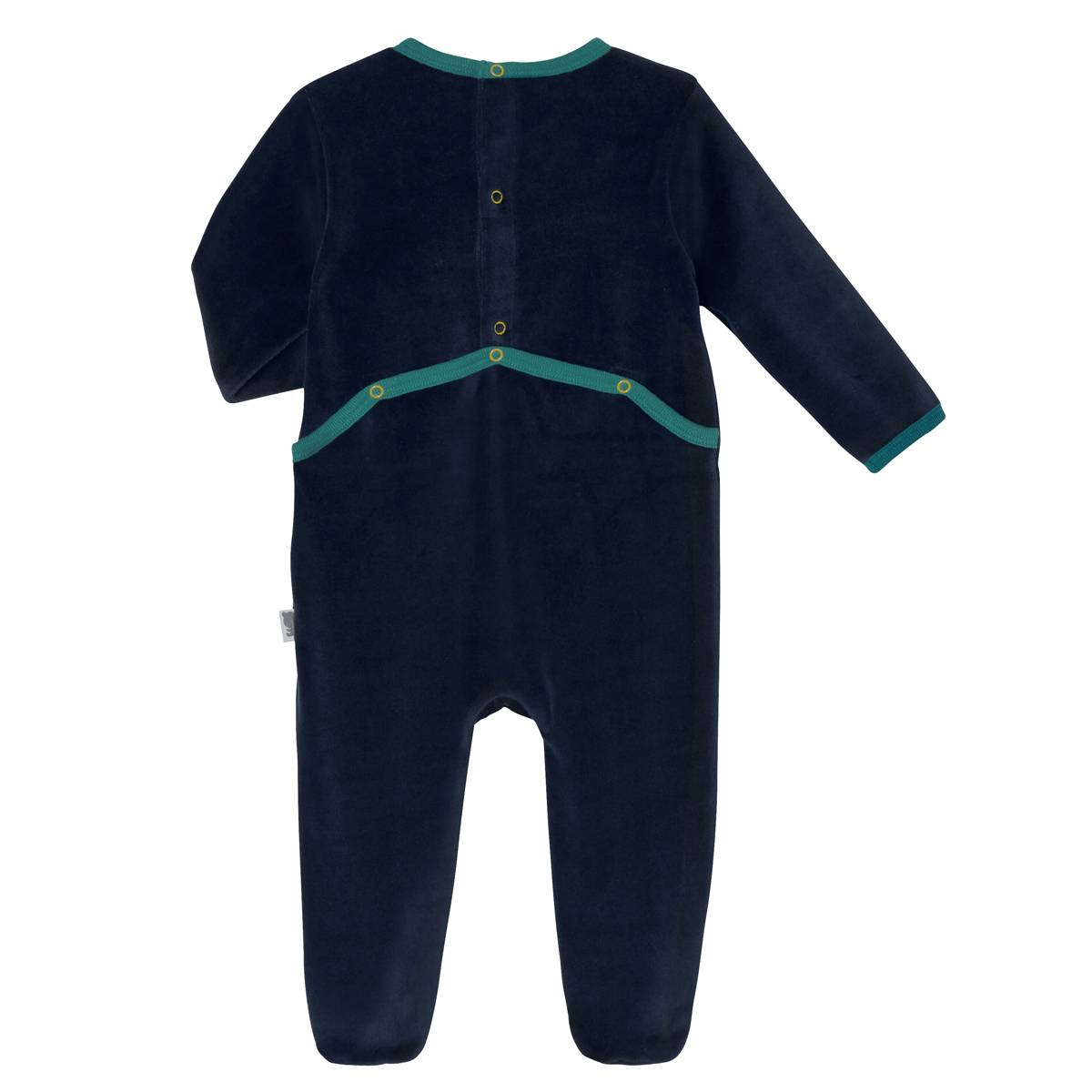 Pyjama bébé velours Panama dos