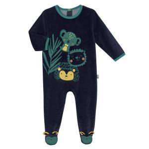 Pyjama bébé velours Panama