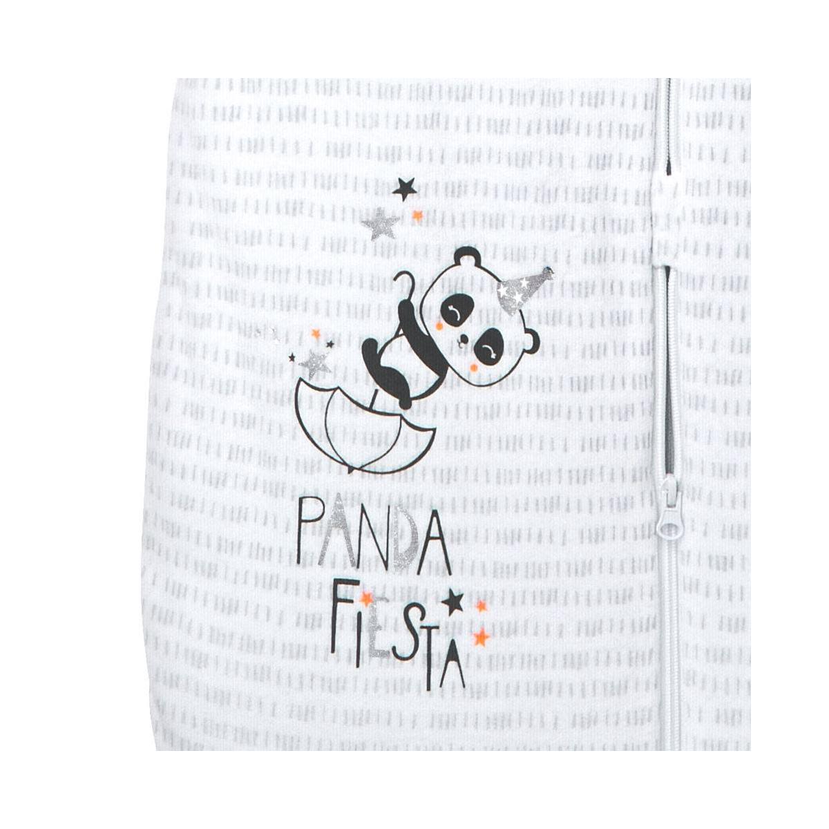 Turbulette d'hiver en velours manches amovibles Little Panda zoom