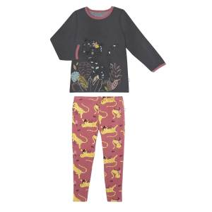 Pyjama fille manches longues Miss Tigresse