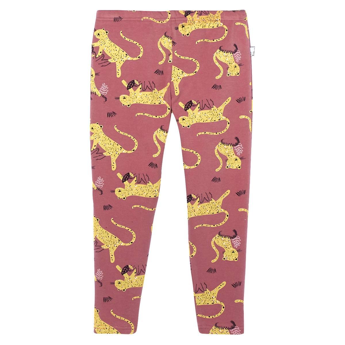 Pyjama fille manches longues Miss Tigresse bas