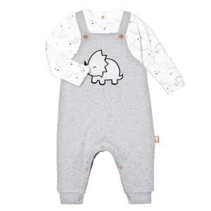 T-shirt + salopette bébé Dino Dingo