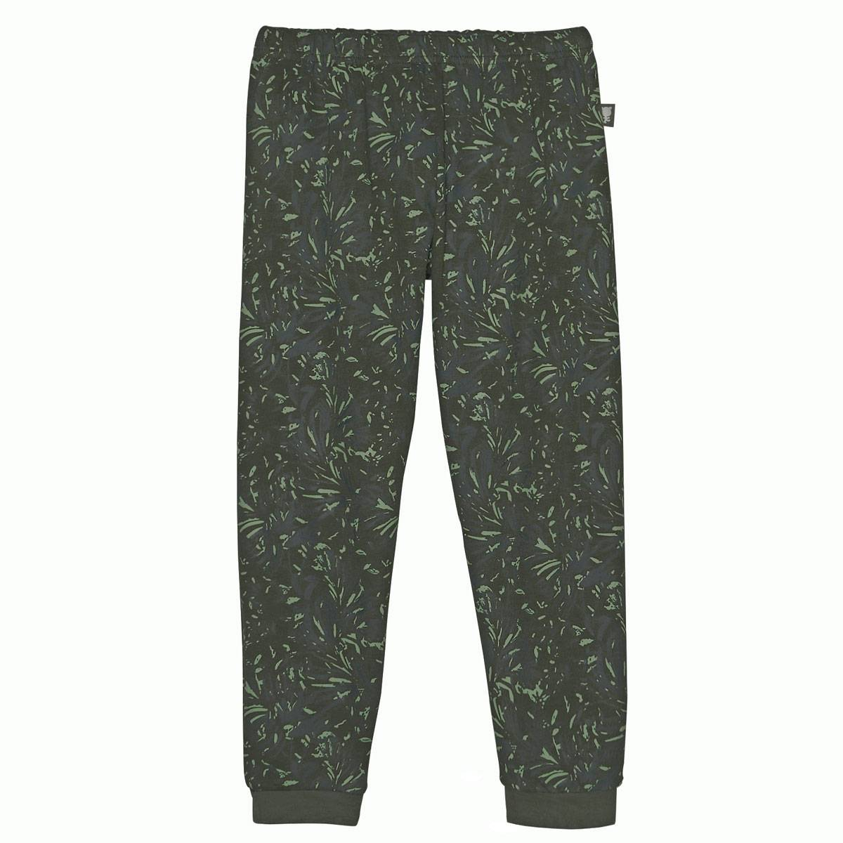 Pyjama garçon manches longues + masque Gorilla Jungle bas