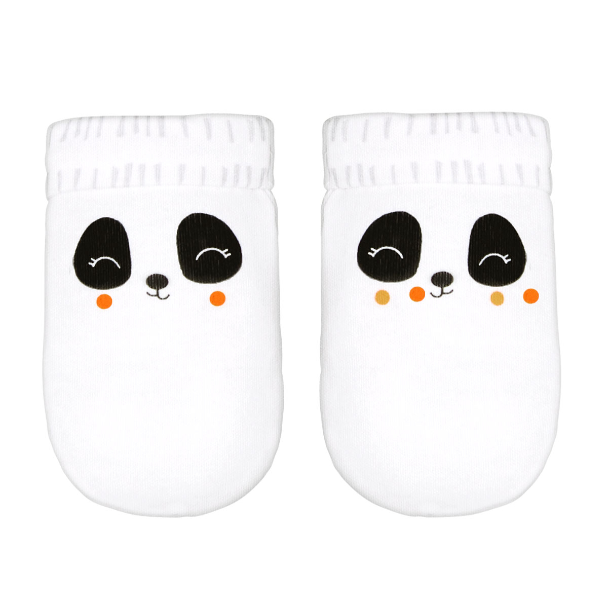 Moufles anti-griffures bébé mixte Little Panda 0/3M