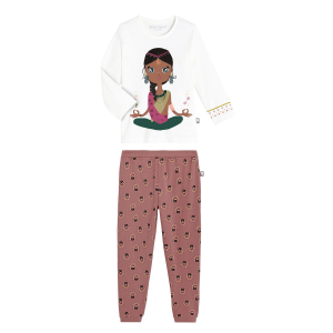 Pyjama fille manches longues Pacha