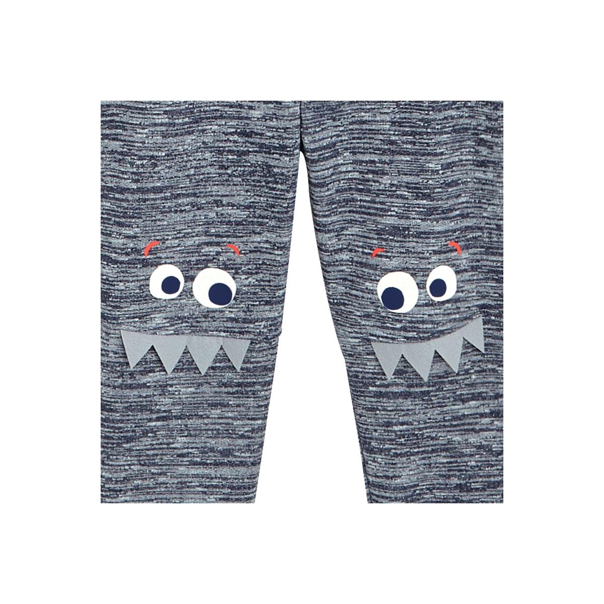 Pyjama garçon manches longues Dinotroti détails pantalon