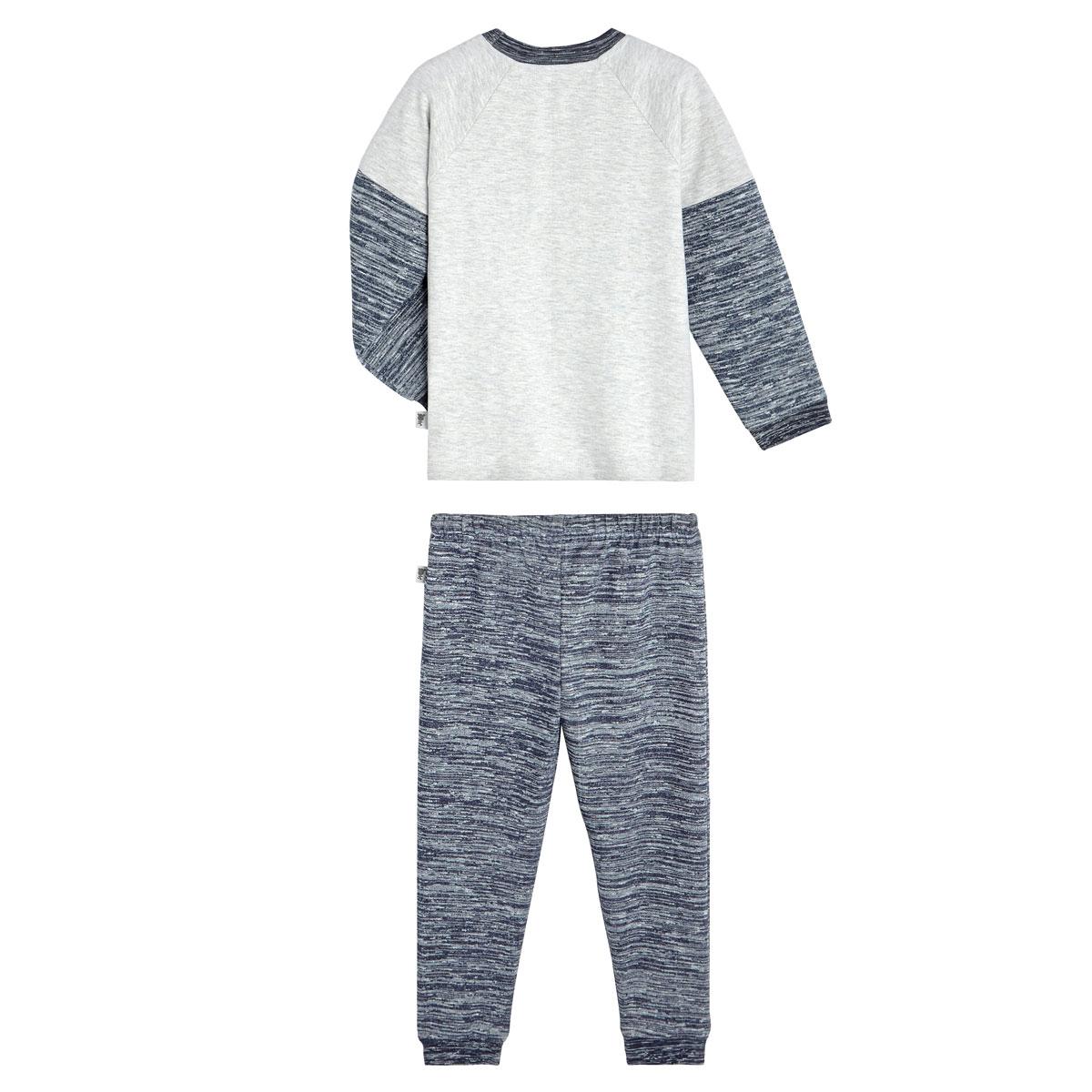 Pyjama garçon manches longues Dinotroti dos