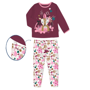Pyjama fille manches longues Miss Fall