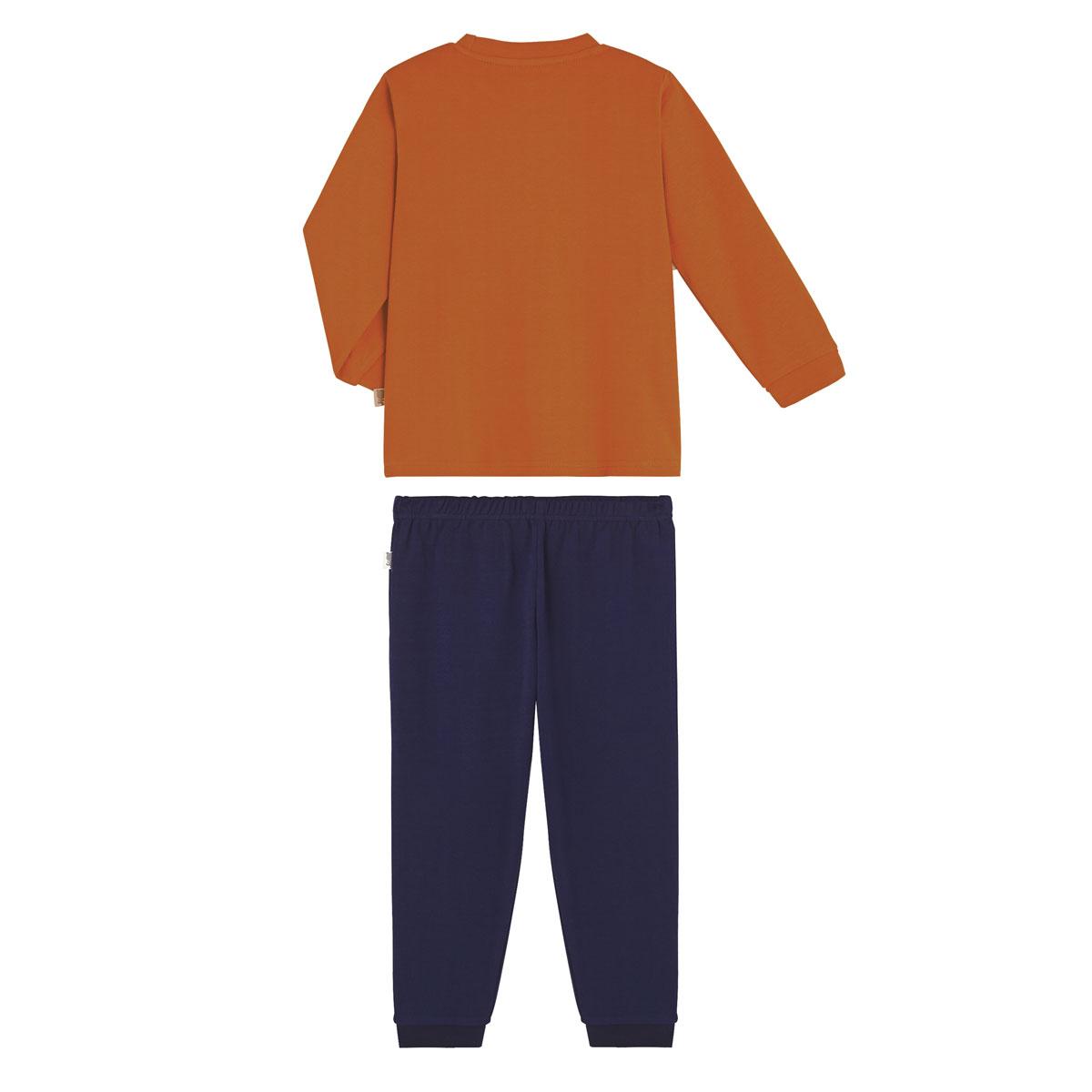 Pyjama garçon manches longues Abati dos