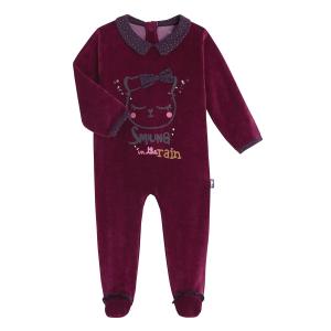 Pyjama bébé velours Cotcotdiva