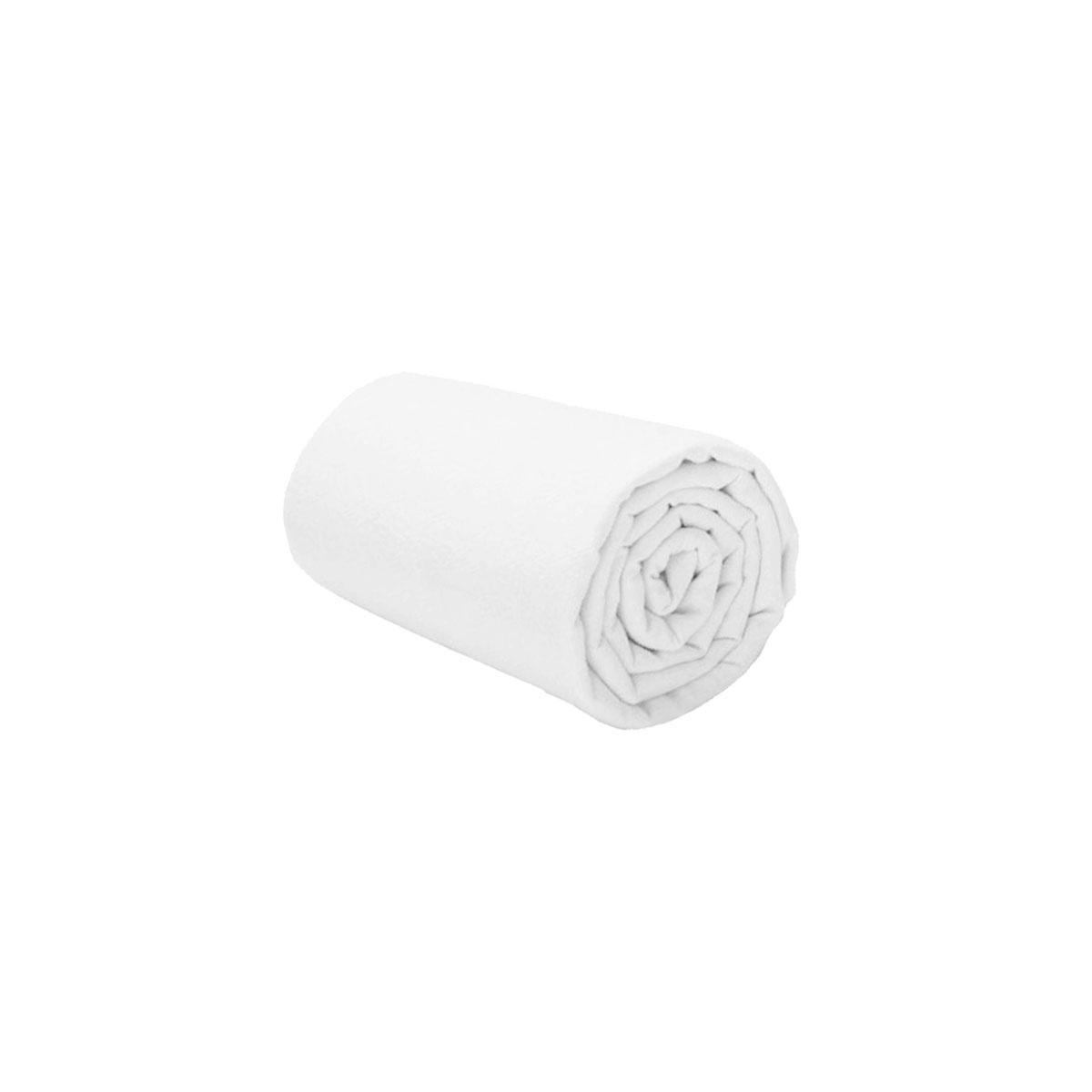 Drap housse enfant blanc Petit Béguin® 90 x 190 cm