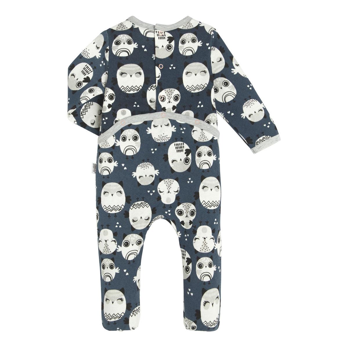 Pyjama bébé en molleton Zibou dos