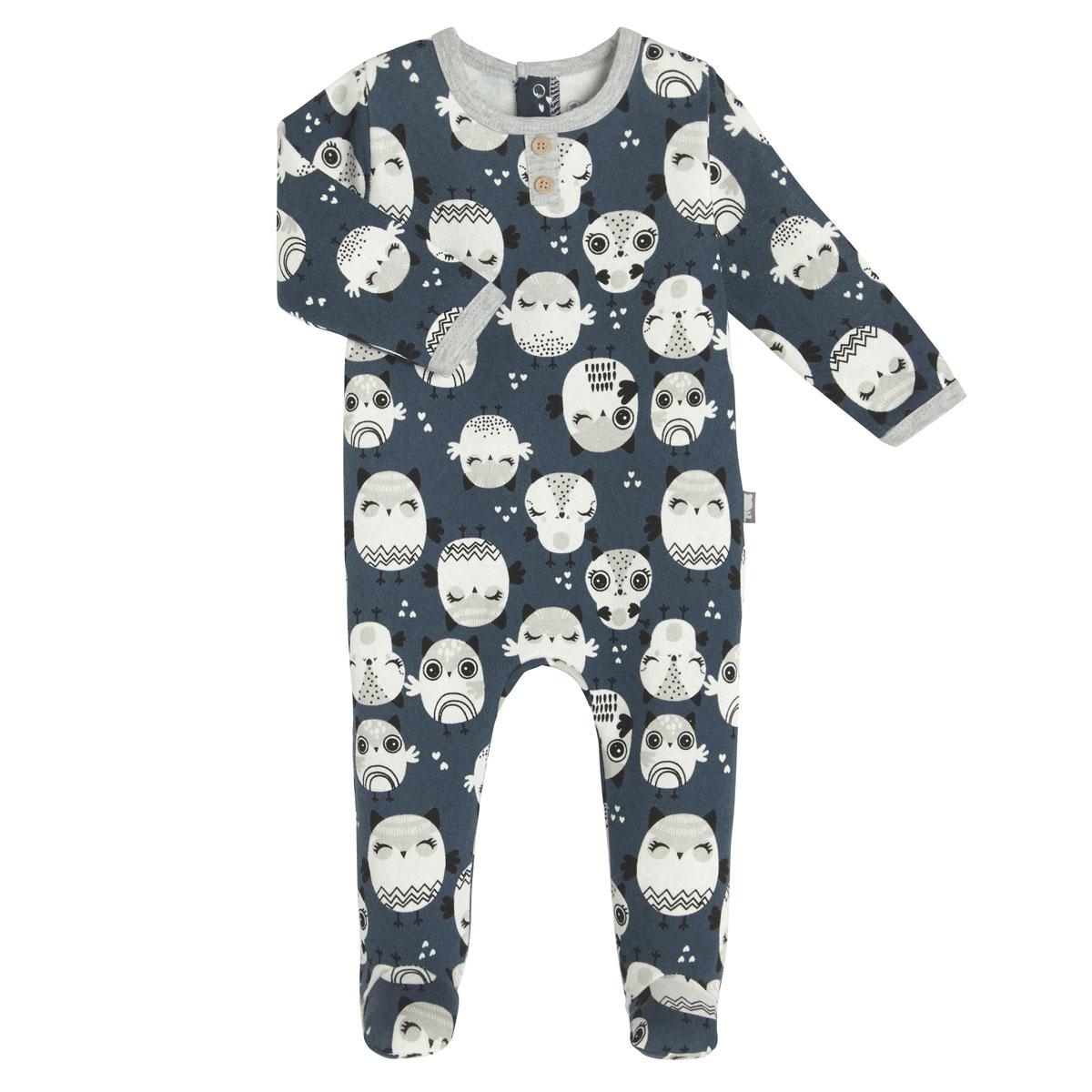 Pyjama bébé en molleton Zibou