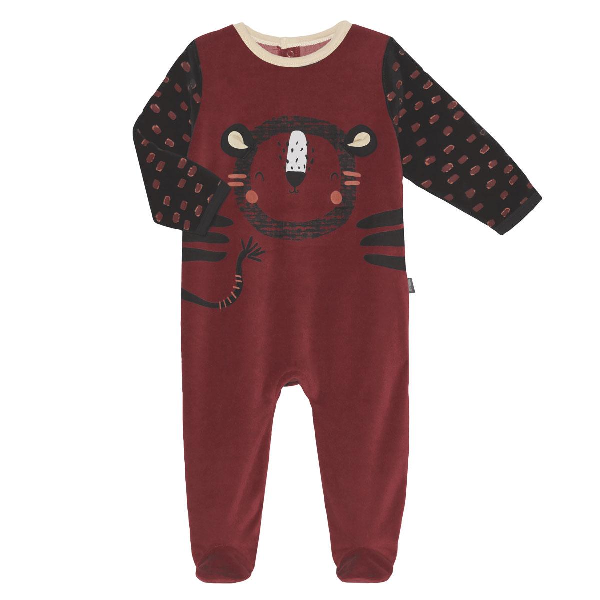 Pyjama bébé velours Cuzco