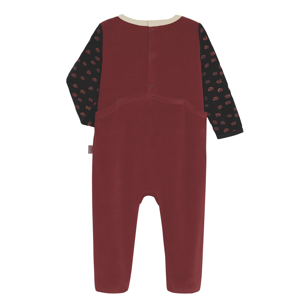 Pyjama bébé velours Cuzco dos