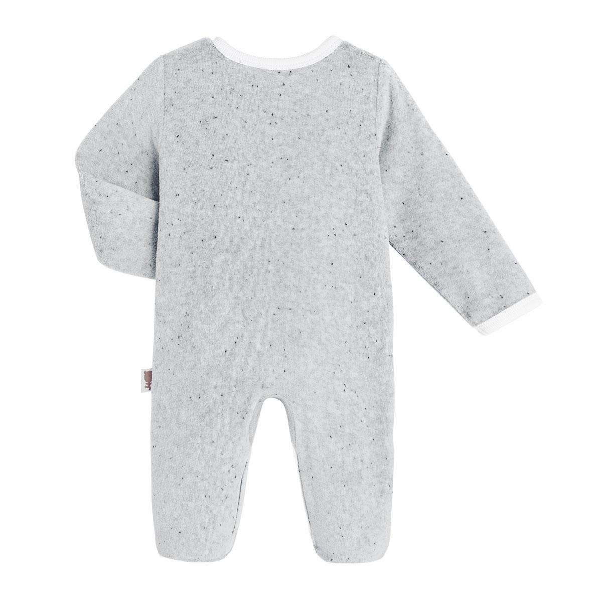 Pyjama bébé velours Dino Dingo dos