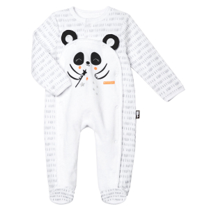 Pyjama bébé mixte velours Little Panda