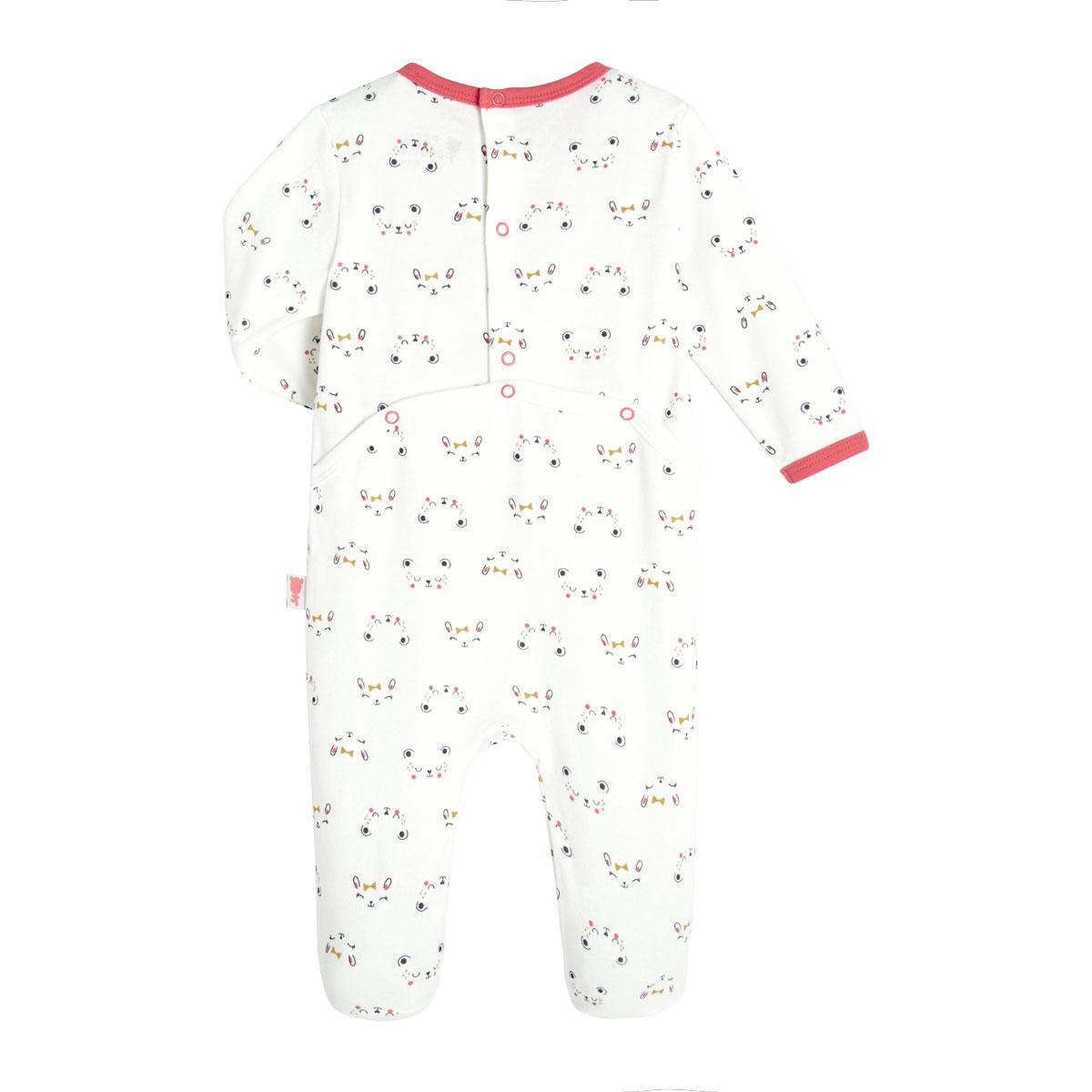 Pyjama bébé Tiboubou dos