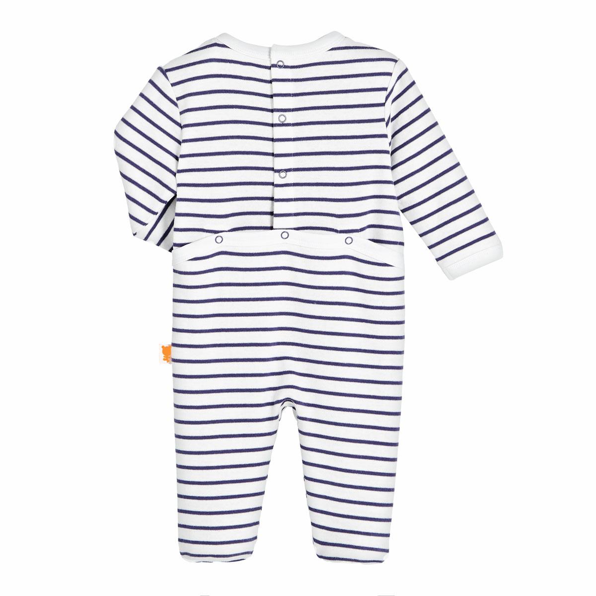 Pyjama bébé garçon French Touch dos