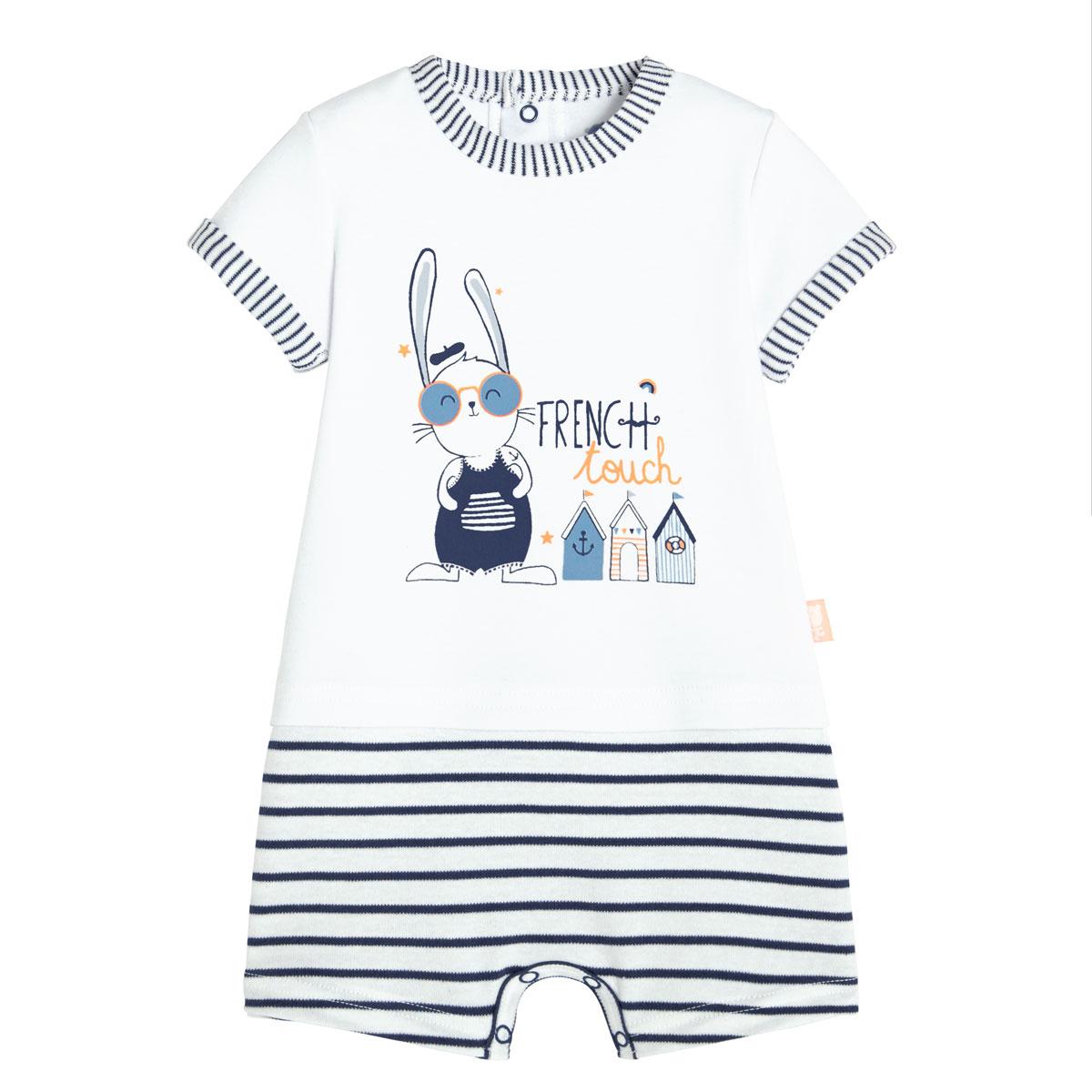 Combishort bébé garçon sur la French Touch