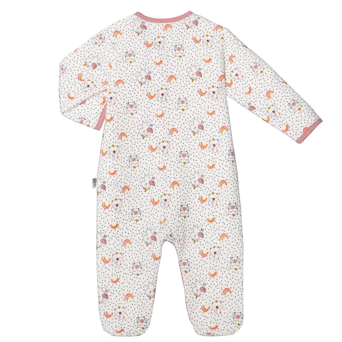 Pyjama bébé fille Pandicorne dos