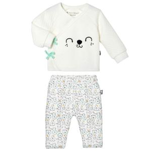 Ensemble gilet croisé et pantalon bébé garçon Bamaco
