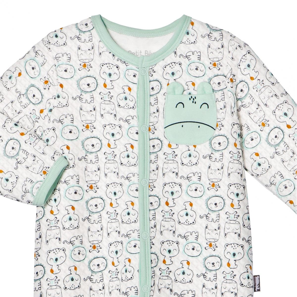 Pyjama bébé garçon Bamaco zoom