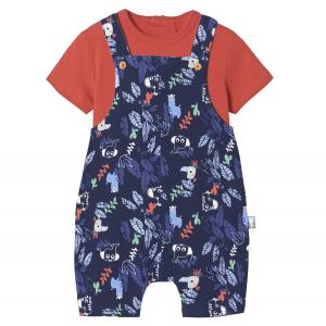 Salopette + T-shirt bébé garçon Zumba Pampa