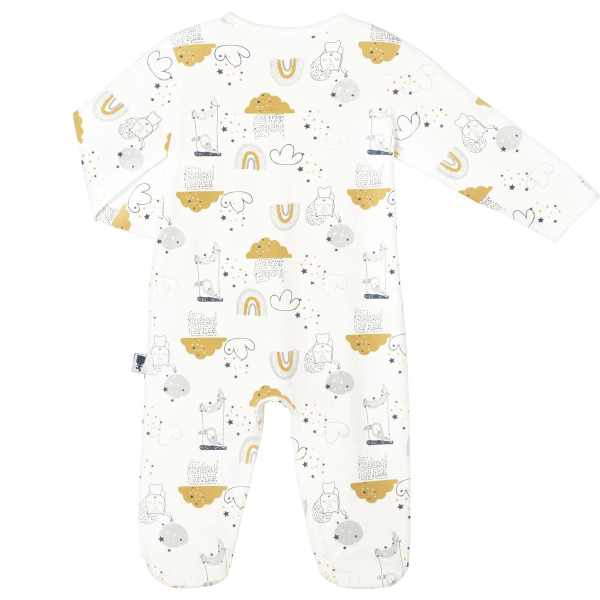 Pyjama bébé mixte Tendresse dos