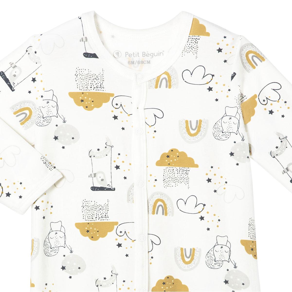 Pyjama bébé mixte Tendresse zoom