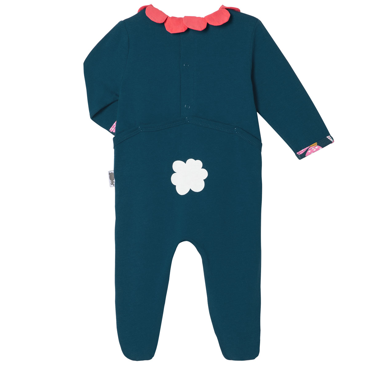 Pyjama bébé Tinyblooms dos