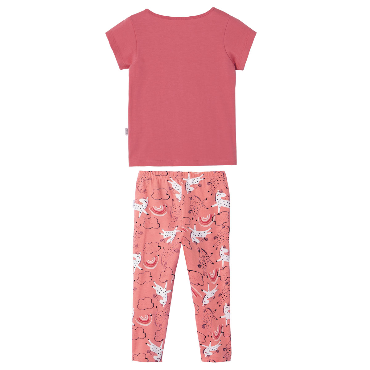 Pyjama fille manches courtes Petits Rêves dos