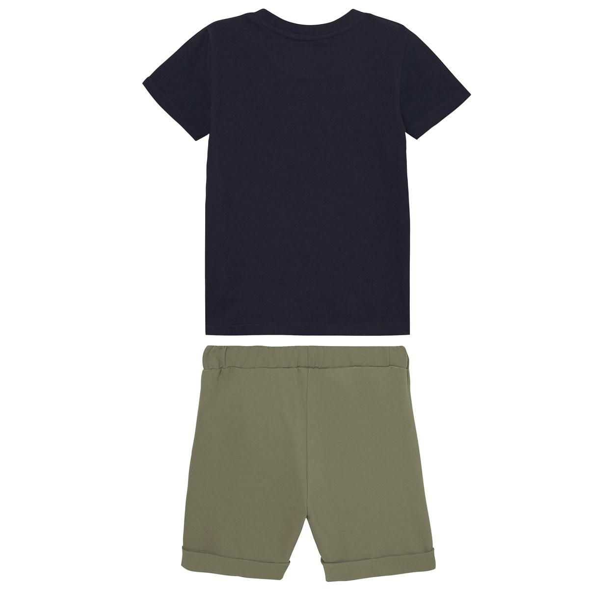 Pyjama garçon manches courtes marine California dos