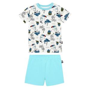 Pyjama garçon manches courtes Bora bora