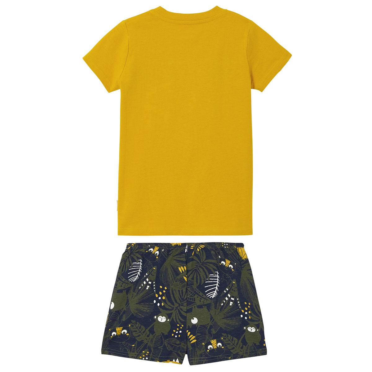 Pyjama garçon manches courtes Rafiki dos