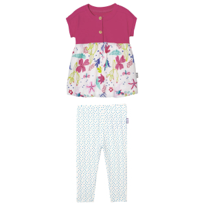 Ensemble bébé fille tunique + legging Paillette